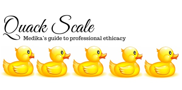 Quack Scale - Five Ducks