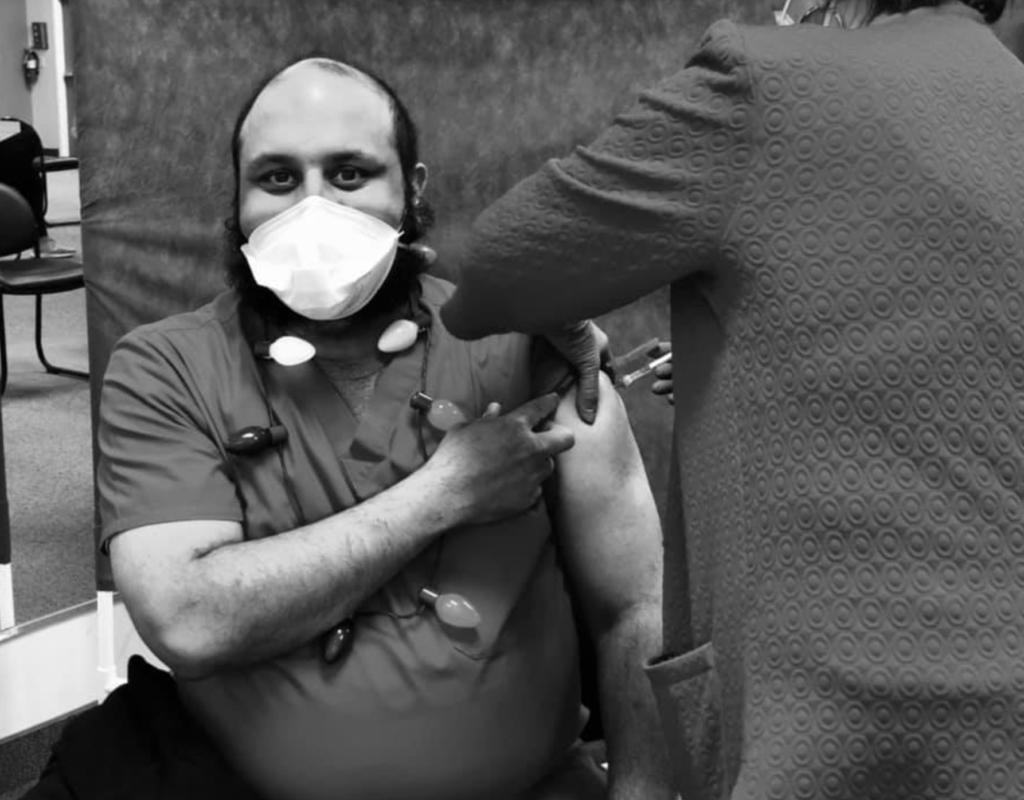 Hujefa Vora #vaccinechallenge