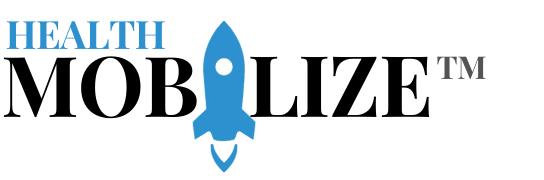 MOBILIZE Health Logo White Back