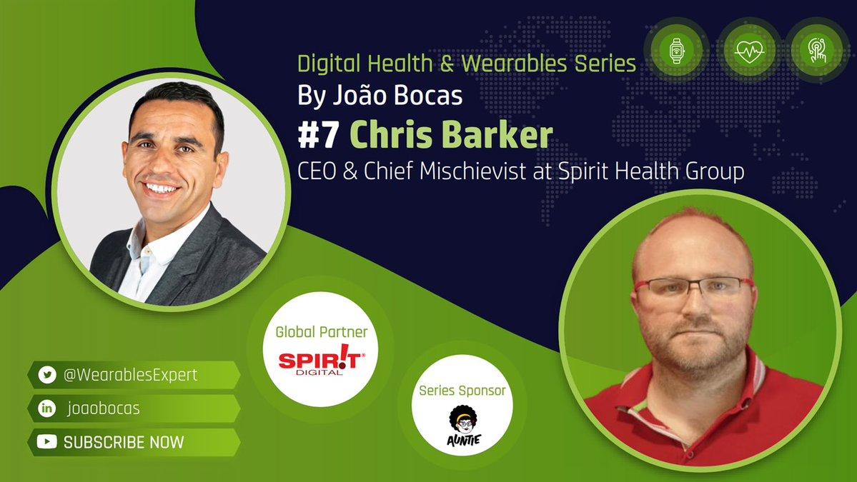 The Wearables Expert Chris Barker