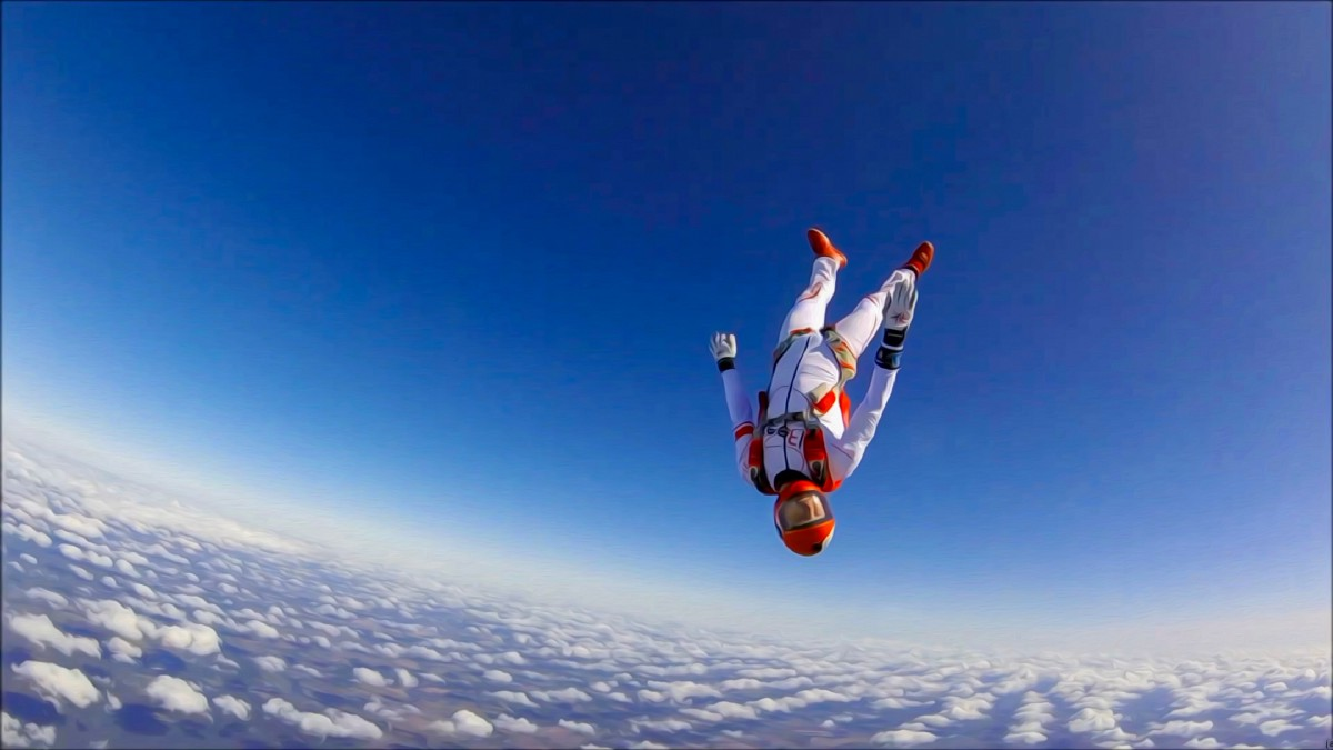Skydiver Perspective
